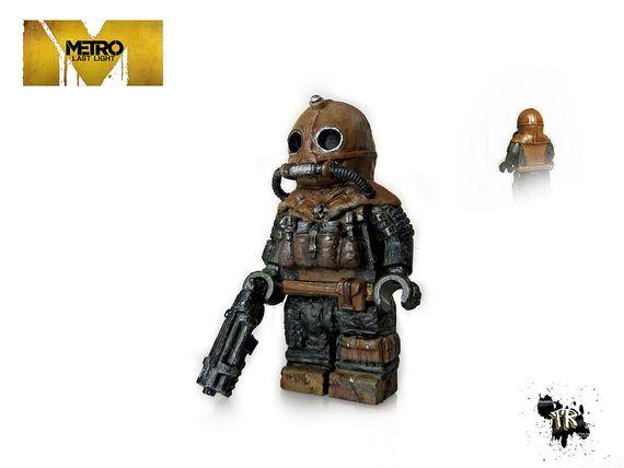 Metro Last Light Ranger Hazard Suit Custom Minifigure