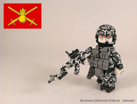 Russian Ground Forces Assualt Custom Minifigure