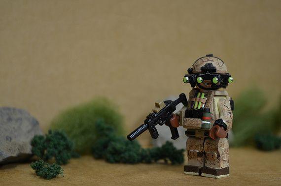 Zero Dark Thirty Navy Seal Custom Minifigure
