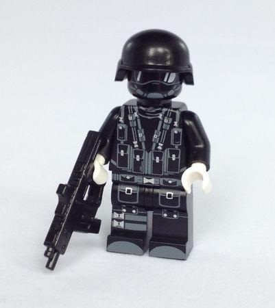 Brick Moc Modern Combat Minifigure