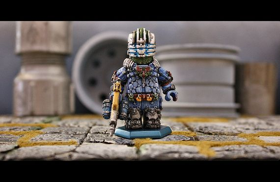 Dead Space 3 Arctic Survival Custom Minifigure