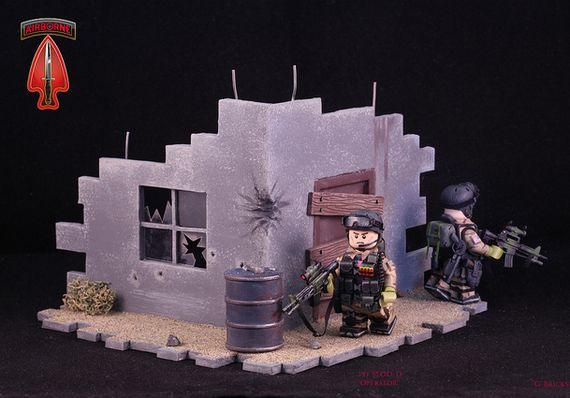Delta Force Diorama Custom Minifigures