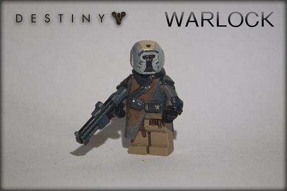 Destiny Warlock Custom Minifigure