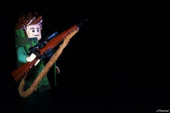 Hunter Figure Custom Minifigure