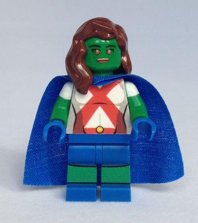Martian Girl eclipseGrafx Custom Minifigure