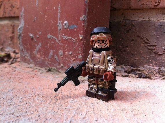 Painted Desert Ops Custom Minifigure