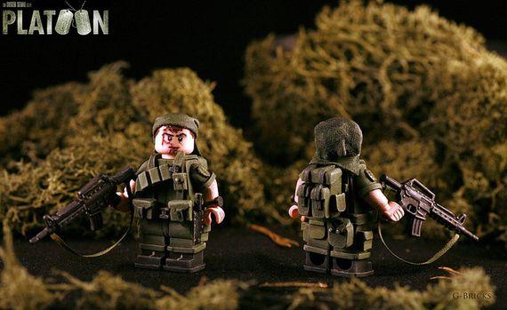 Platoon Sgt Barnes Custom Minifigure