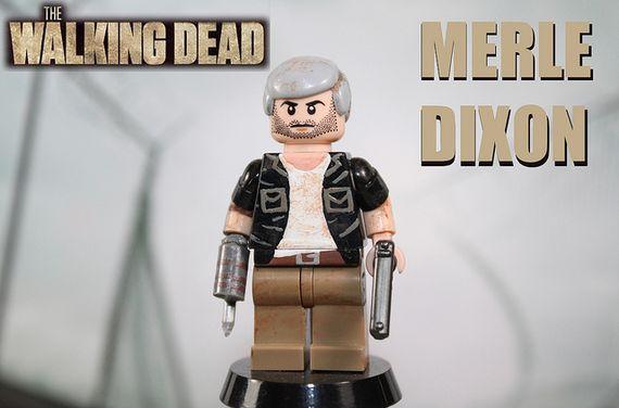 The Walking Dead Merle Dixon Custom Minifigure