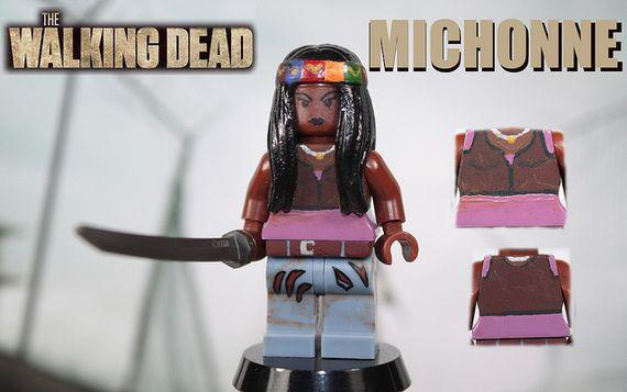 The Walking Dead Michonne Custom Minifigure