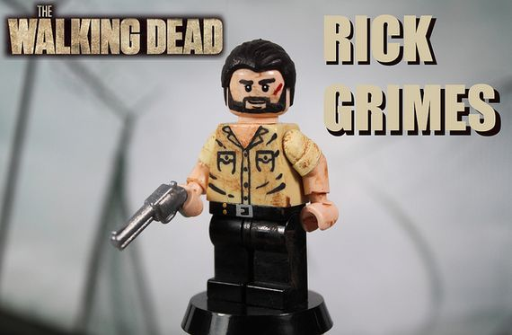 The Walking Dead Rick Grimes Custom Minifigure