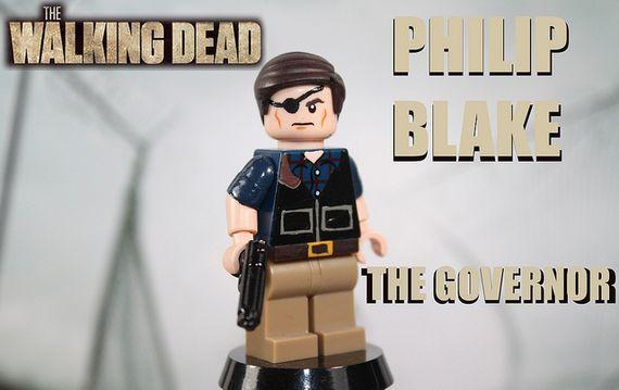 The Walking Dead The Governor Philip Blake Custom Minifigure