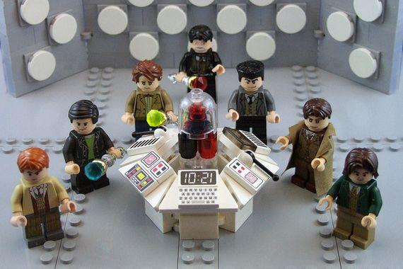 7th - 12th Doctor Custom Minifigures