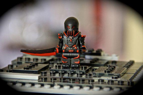 Bloodfall Custom Minifigure