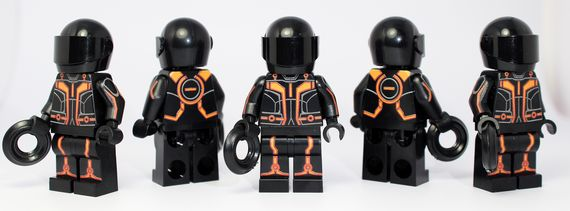 Brick Moc Grid Program Custom Minifigure