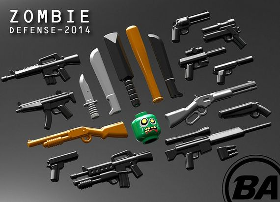 BrickArms Zombie Defence Pack 2014