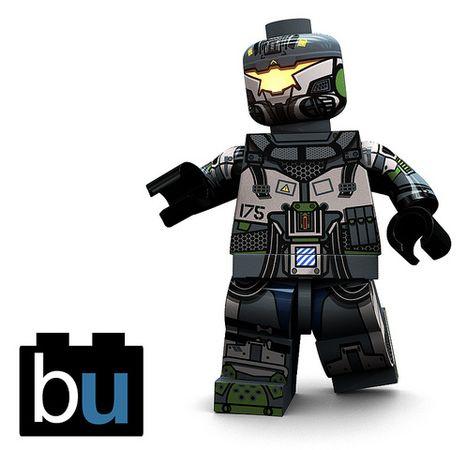 Brick Ultra Mech Pilot Render