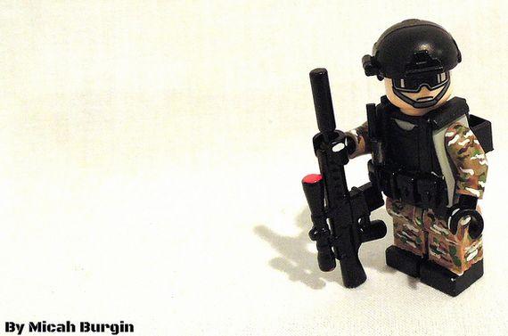 LongRange Sniper Custom Minifigure