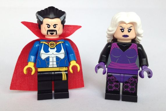 Marvel Dr Strange And Clea Custom Minifigures Review