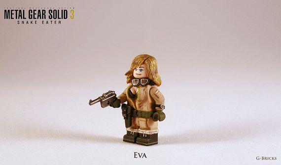 Metal Gear Solid 3 Snake Eater Eva Custom Minifigure