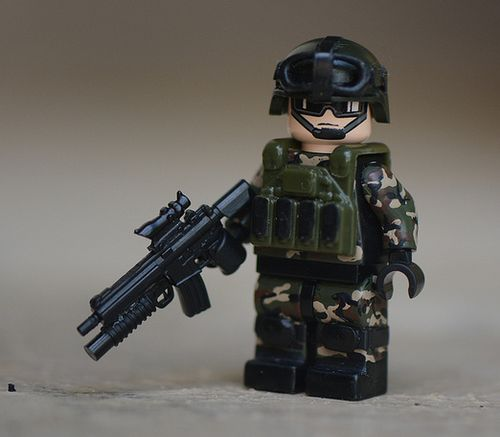 SWCC Custom Minifigure