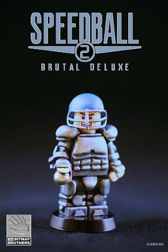 Speedball 2 Custom Minifigure