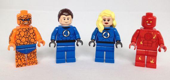 The Legion of Minifigs The Fantastic 4 Custom Minifigures
