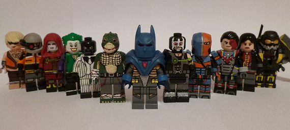 Batman Arkham Origins Custom Minifigures