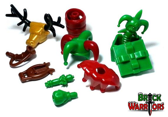 BrickWarriors Limited Edition Christmas Pack