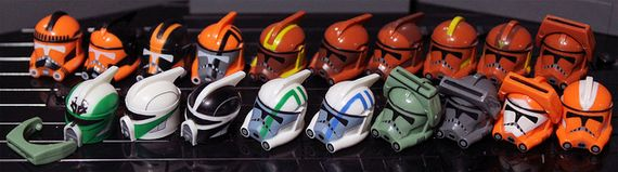 Clone Army Customs Wave 4 Helmets