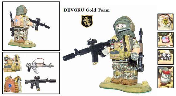 DEVGRU Gold Team 1 Custom Minifigure