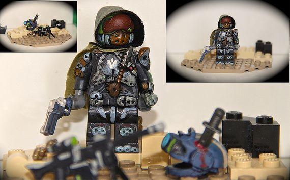 Destiny Hunter Custom Minifigure