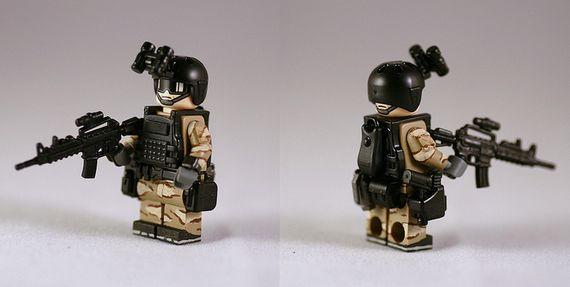 G-Bricks Deltra Force Custom Minifigure