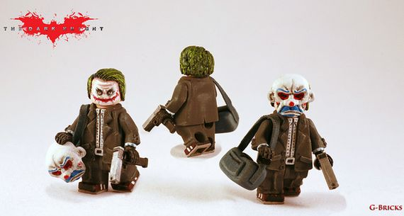 Joker TDK Custom Minifigure