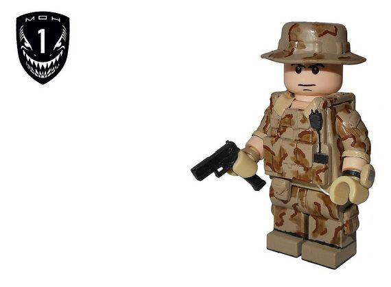 Medal of Honor Warfighter SFOD-D Sniper Custom Minifigure