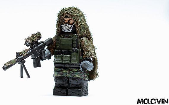 Scout Sniper Wraith Custom Minifigure