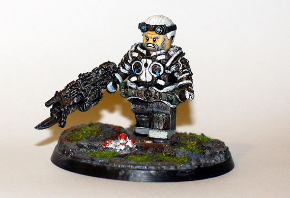 GOW Judgement Custom Minifigure