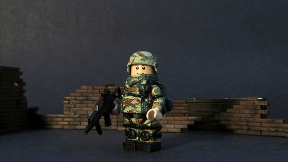 Greek Special Forces Custom Minifigure