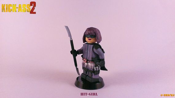 Hit Girl Custom Minifigure