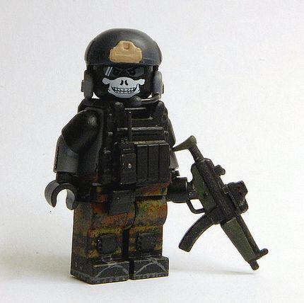 Kommando Spezialkräfte Cpl Schultz Custom Minifigure