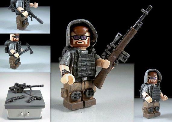 Urban Sniper PMC Custom Minifigure