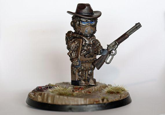 Wasteland Lawbringer Custom Minifigure