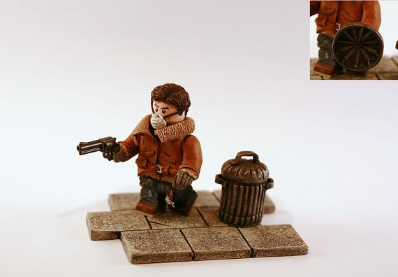 Apoc Survivor Custom Minifigure
