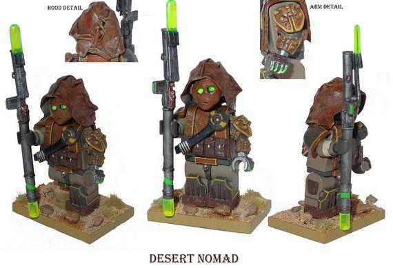 Desert Nomad Custom Minifigure