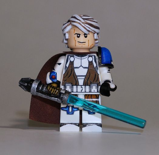 General Anakin Skywalker Custom Minifigure