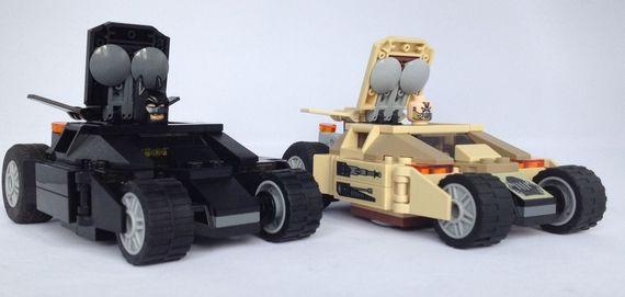 LEGO Batman & Banes Tumblers