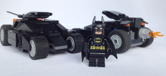 LEGO Batman Custom Tumbler