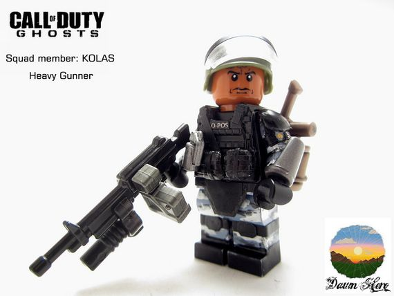 Call of Duty Ghosts Kolas Custom Minifigure