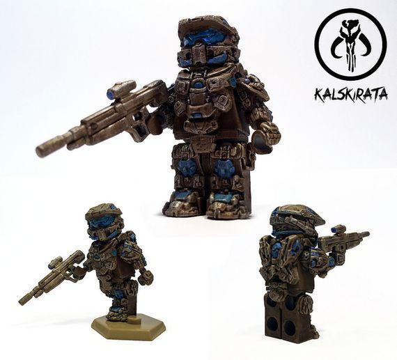 Spartan Commando Custom Minifigure