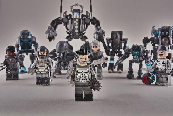 The Brute Force Custom Minifigures