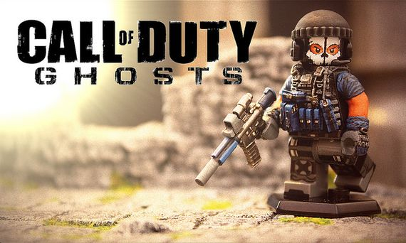 We Are Ghosts Custom Minifigure